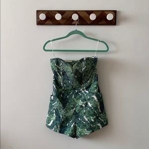 H&M Palm Romper